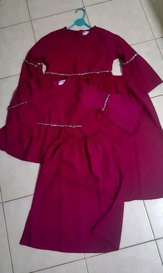 💟kids Modern baju kurung💟