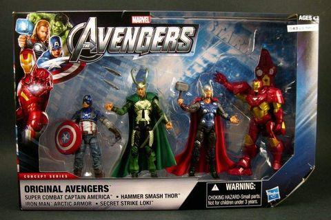 Marvel Concept Series Original Avengers