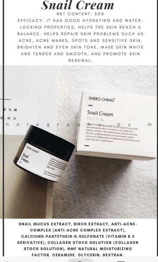 Shero Ching Snail Cream