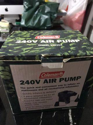 🚚 Coleman air pump