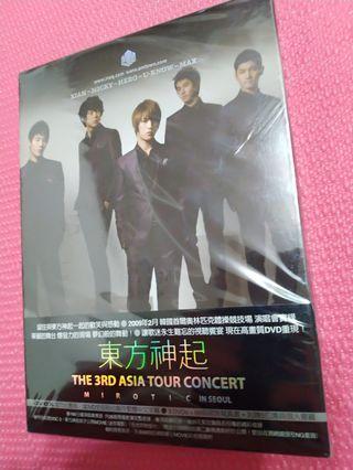 東方神起the 3rd Asia tour Concert in seoul 官方台壓版3DVD
