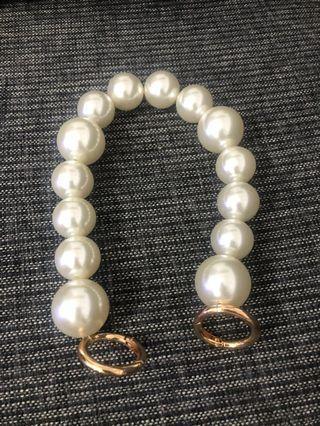珍珠袋鏈 手提袋帶 pearl bag strap