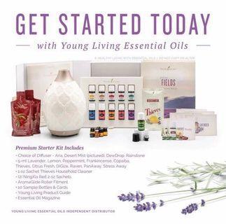 Young Living Dessert Mist Starter Kit