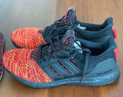 Adidas Ultraboost x Game of Thrones - Targaryean Dragons US 9.5 權力遊戲
