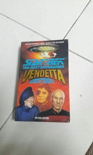 Star Trek Book - Vendetta