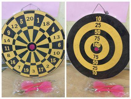 雙面 飛鏢 鏢靶 Dual sides dart board toys