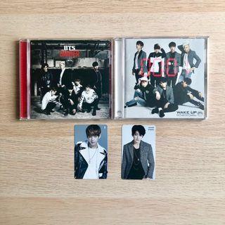 BTS Danger Wake Up Japanese Album with Taehyung V Tae Jungkook JK Photocard