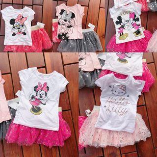 Minnie Tutu Dress Set
