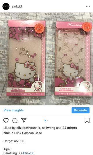 Samsung S8 Hello Kitty Case
