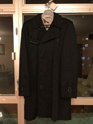 99%New Burberry Black Trench Coat 黑色乾濕褸