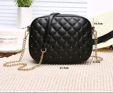 Small high quality PU leather bag.