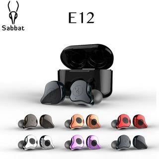 狂減優惠!100全新現貨!Sabbat 魔宴 E12 真無線藍牙耳機 x12 pro Wireless Bluetooth Earphone earbuds headphone