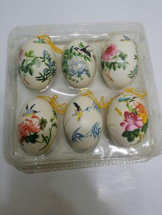 上海手繪工藝蛋擺設