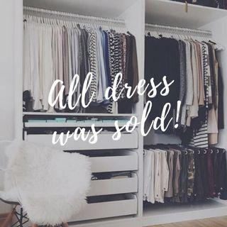 ALL STUFF (DRESS, BAG&OTHERS) HAS SOLD.