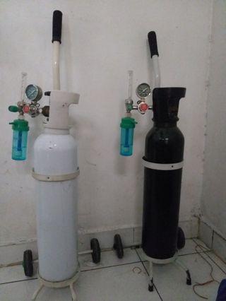 Di jual 2 Tabung oksigen murah