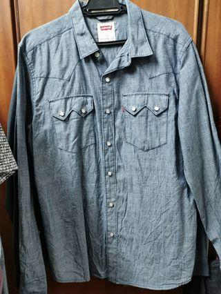 Levis Denim Shirt - Preloved