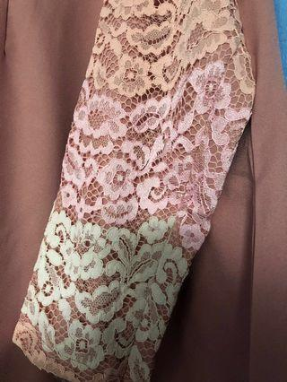 IMAAN BOUTIQUE LACE JUBAH