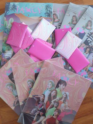 TWICE FANCY YOU ALBUMS