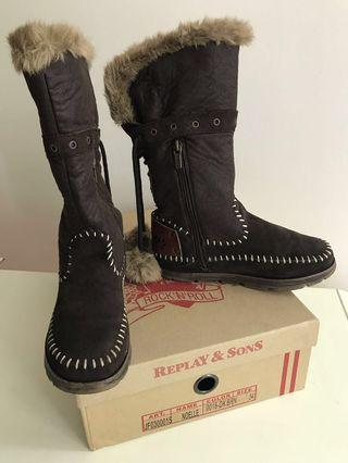 REPLAY Winter Boots Girls Shoes