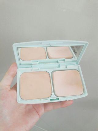 CEZANNE塞尚 絲漾高保濕防曬粉餅綠盒EX1