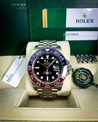 🚚 Rolex GMT Master 2  126710BLRO