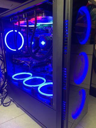 Gaming PC 跑分 雙CPU 16GB RAM RX570其他新機禁入我主頁😊