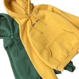 Oh yes hoodie