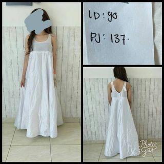 White Petticoat dress