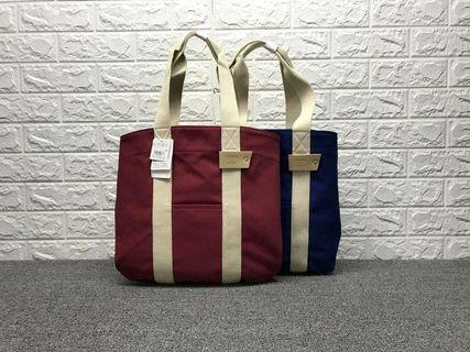 🚚 Free mailing! Brand new Colors Japan Unisex Red Tote Bag
