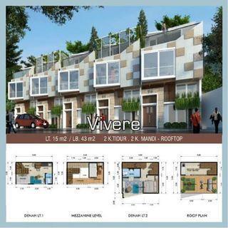 Rumah Murah di Jaksel Mampang 21/2 lt hanya 900jjtaan unit terbatas