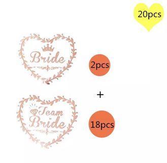 Team bride tattoo/sticker