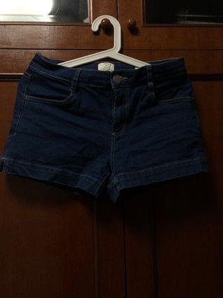 Cotton On Denim Shorts Mid-Classic