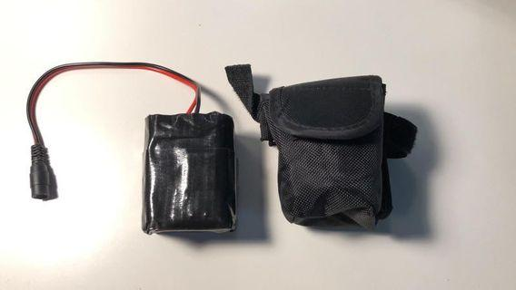 Light batteries and other accessories