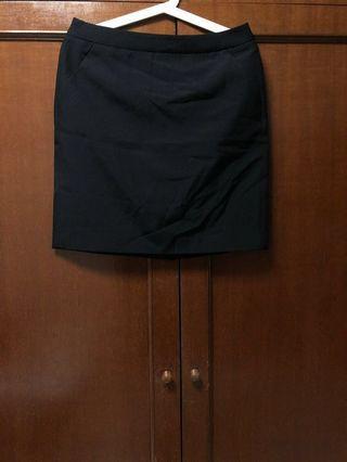 G2000 Office Black Pencil Skirt