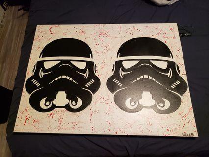 Starwars painting