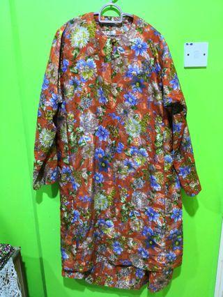 Baju Kurung Cotton Size XXL