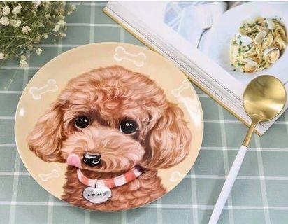 寵物狗狗陶瓷圓盤