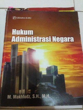 Buku Hukum Administrasi Negara