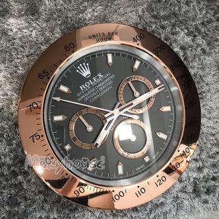 Rose gold Daytona wall clock