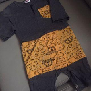 Baju Melayu Jumpsuit Baby