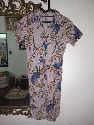 Midi Dress Flower