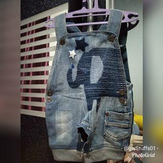 👘Preloved👘 baju monyet jeans sz 3-18bln