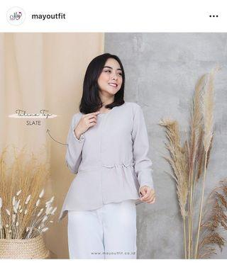 Tulina top Mayoutfit #mauvivo