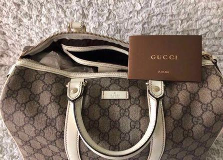 Authentic Gucci Boston Bag #endgameyourexcess
