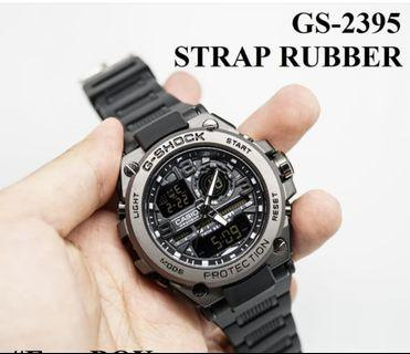 Jam Tangan G-shock gst 2395 rubber full black specialedition