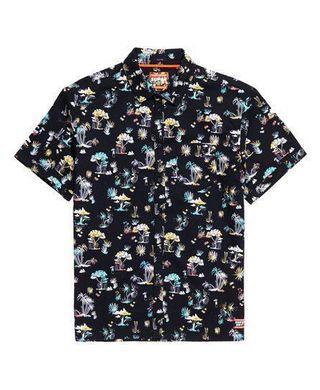 🚚 Seattle Skate shirt in Akio Black