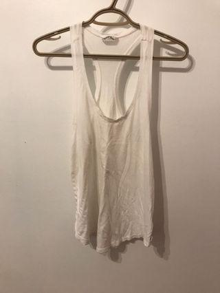White Cover Up Tank Top