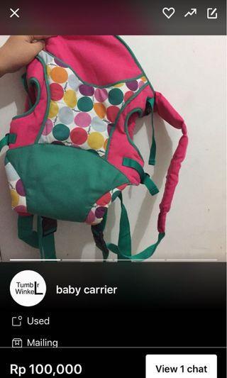 baby carrier // gendongan bayi 50 nego