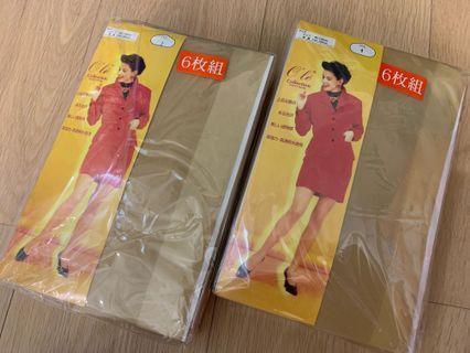 日本 膚色 蝦肉色 肉色 透明 絲襪 薄絲襪 $35/6對