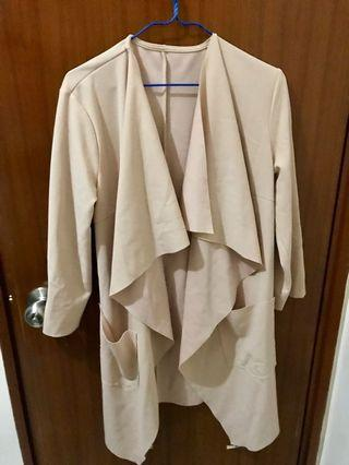 ALL NEW Nude Coat in Free Size [全新均碼粉色外衣]